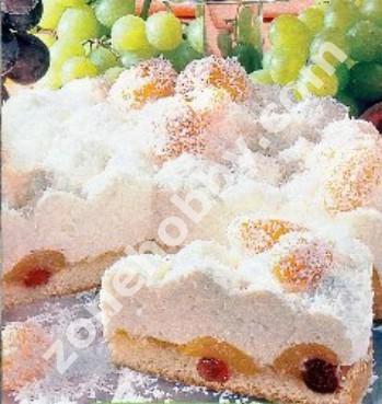 """Торт """"Снежок"""""""