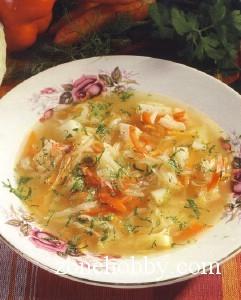 Постный сельдереевый суп