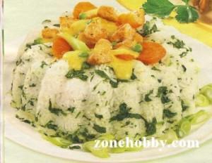 рисовый кулич