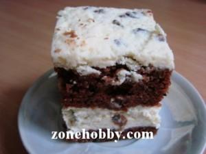 Сладкий торт из кабачков