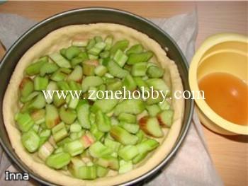 Пирог с ревенем (мастер-класс)