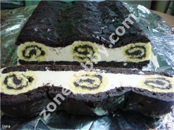 торт чорна троянда рецепт фото