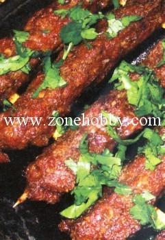 Куриный кебаб с тыквой