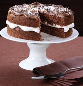 Кофейный торт со сгущенным молоком
