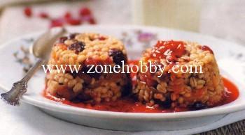 Десерт из перловки с сухофруктами