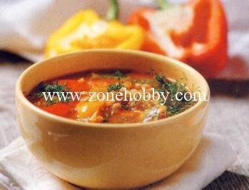 Суп из перловки с овощами